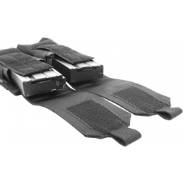 Flyye Industries MOLLE Double M4 Magazine Pouch - BLACK
