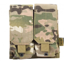 Flyye Industries MOLLE Double M4 Magazine Pouch - Genuine Multicam