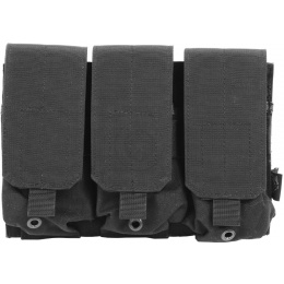 Flyye Industries MOLLE Triple M4 Magazine Pouch - BLACK