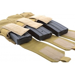 Flyye Industries MOLLE Triple M4 Magazine Pouch - Coyote Brown