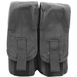 Flyye Industries MOLLE Double AK Magazine Pouch - BLACK