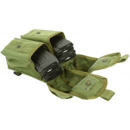 Flyye Industries MOLLE Double AK Magazine Pouch - OD