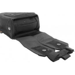 Flyye Industries MOLLE M249 200rd Drum Magazine Pouch - BLACK