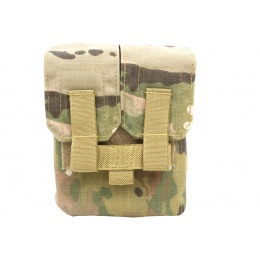 Flyye Industries MOLLE M249 200rd Drum Magazine Pouch - MULTICAM
