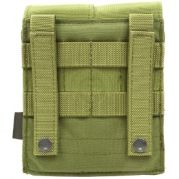 Flyye Industries MOLLE M249 200rd Drum Magazine Pouch - OD
