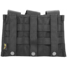 Flyye Industries MOLLE Ver. II Triple M4 Magazine Pouch - BLACK