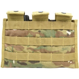 Flyye Industries MOLLE Ver. II Triple M4 Magazine Pouch - MULTICAM