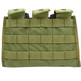 Flyye Industries MOLLE Ver. II Triple M4 Magazine Pouch - OD