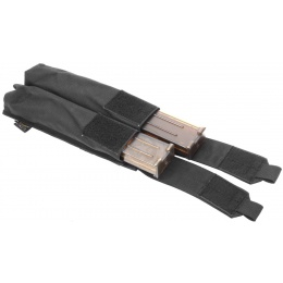 Flyye Industries MOLLE Double P90/ UMP Magazine Pouch - BLACK