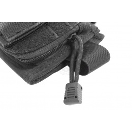 Flyye Industries Tactical Rifle Cheek Rest w/ Accessory Pouch - BLACK