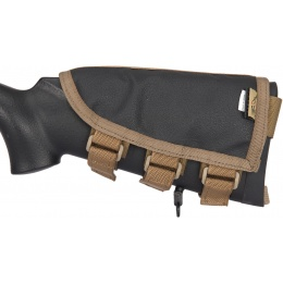 Flyye Industries Rifle Cheek Rest w/ Accessory Pouch - COYOTE BROWN