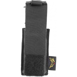 Flyye Industries MOLLE Single Stack .45 Pistol Magazine Pouch - BLACK
