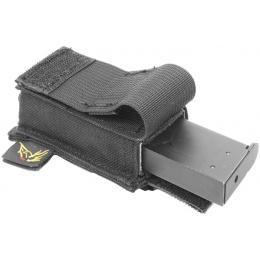 Flyye Industries MOLLE Single Stack .45 Pistol Magazine Pouch - BLACK