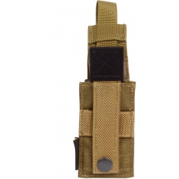 Flyye Industries MOLLE Single Stack .45 Pistol Magazine Pouch - CB