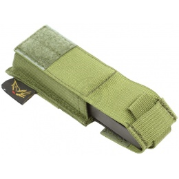 Flyye Industries MOLLE Single Stack .45 Pistol Magazine Pouch - OD