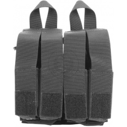 Flyye Industries MOLLE Double M4 & Quad Pistol Magazine Pouch - BLACK