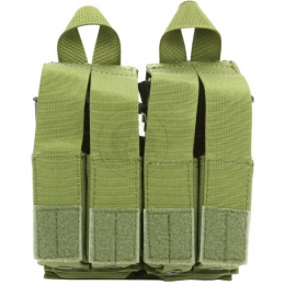 Flyye Industries MOLLE Double M4 & Quad Pistol Magazine Pouch - OD