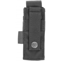 Flyye Industries MOLLE Single 9mm Style Pistol Magazine Pouch - BLACK
