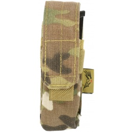 Flyye Industries MOLLE Single Pistol Magazine Pouch - MULTICAM