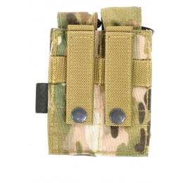 Flyye Industries MOLLE Double Pistol Magazine Pouch - MULTICAM