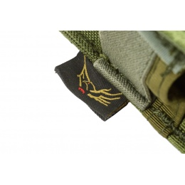 Flyye Industries MOLLE Double 9mm Style Pistol Magazine Pouch - OD