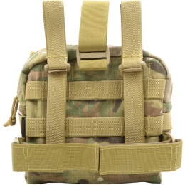 Flyye Industries MOLLE Drop Leg Accessories Pouch - Genuine Multicam