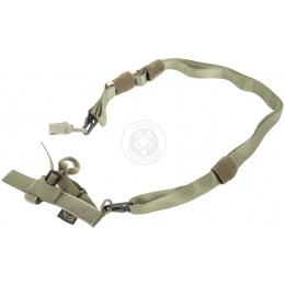 Flyye Industries 1000D Tactical Three Point Sling - RANGER GREEN