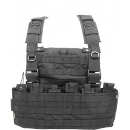 Flyye Industries 1000D Cordura WSH MOLLE Chest Rig - BLACK