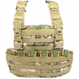 Flyye Industries 1000D Cordura WSH MOLLE Chest Rig - GENUINE MULTICAM