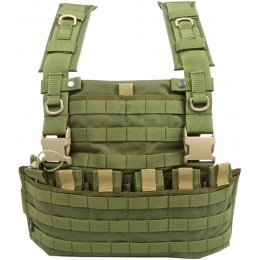 Flyye Industries 1000D Cordura WSH MOLLE Chest Rig - OD