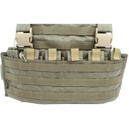 Flyye Industries 1000D Cordura WSH MOLLE Chest Rig - RANGER GREEN