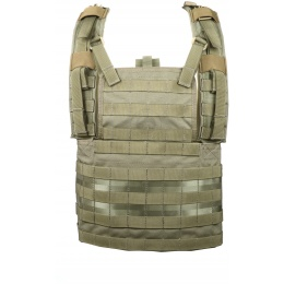 Flyye Industries 1000D Cordura MOLLE RRV Chest Rig - Ranger Green