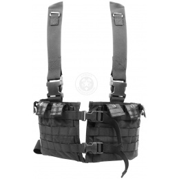 Flyye Industries MKI MOLLE Chest Rig - BLACK