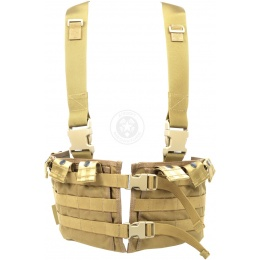 Flyye Industries MKI MOLLE Chest Rig - Coyote Brown