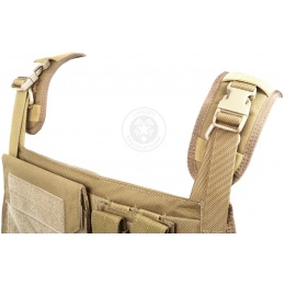 Flyye Industries 1000D MOLLE Plate Carrier w/ Pouches - COYOTE BROWN