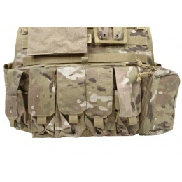 Flyye Industries 1000D MOLLE Plate Carrier w/ Pouches - GENUINE MULTICAM
