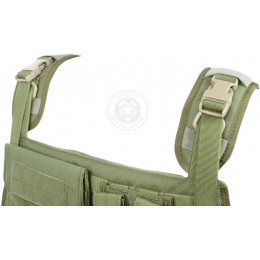 Flyye Industries 1000D MOLLE Plate Carrier w/ Pouches - OD GREEN
