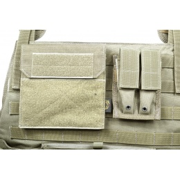 Flyye Industries 1000D MOLLE Plate Carrier w/ Pouches - RANGER GREEN