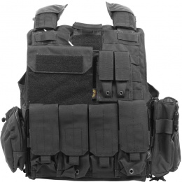 Flyye Industries 1000D 9-Pouch Maritime Force Recon Vest - BLACK
