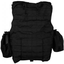 Flyye Industries 1000D Cordura Large Recon Vest w/ 9 Pouches - BLACK