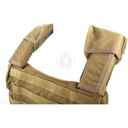 Flyye Industries Airsoft 1000D Large Land Version Vest - COYOTE BROWN