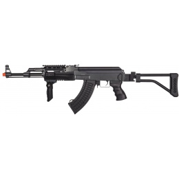 JG AK47 TSF Tactical RIS Metal Gearbox Airsoft AEG w/ Folding Stock