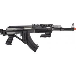 JG AK47 TSF Tactical RIS Metal Gearbox Airsoft AEG w/ Folding Stock