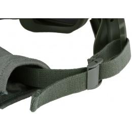 Bobster Bravo ANSI Z87 Ballistic Rated Goggles w/ Extra Lenses - OD