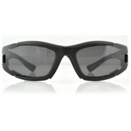 Bobster Resolve ANSI Z87 Rated Sunglasses w/ Goggle Strap - BLACK