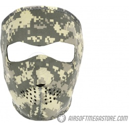 ZAN Headgear Tactical Airsoft Neoprene Full Face Mask - ACU