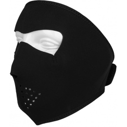 ZAN Headgear Tactical Airsoft Neoprene Full Face Mask - BLACK