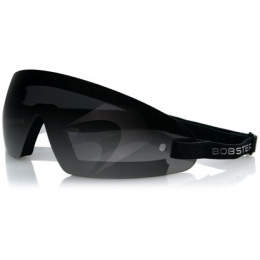 Bobster Airsoft Wrap Around Frameless Safety Goggles - Smoked Lens
