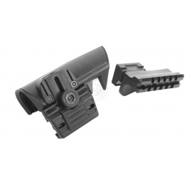 Command Arms DMR Adjustable Cheek Rest for LE Stocks (Right) - BLACK