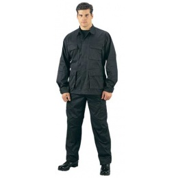 Rothco Ultra Force S.W.A.T. Cloth BDU Pants - BLACK (SWAT)